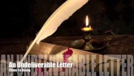 An Undeliverable Letter